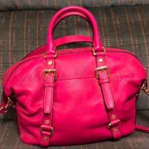 Michael Kors Bags - Michael Kors Fuchsia Colored Handbag - Like New!
